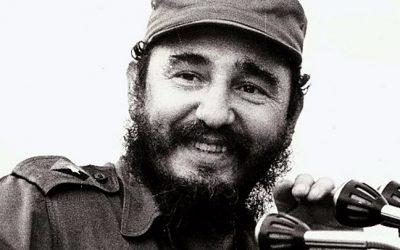 Adesso che è morto Fidel.